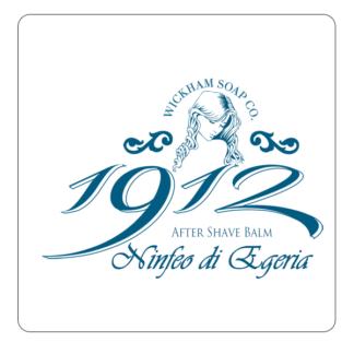 1912 aftershave balm ninfeo di egeria