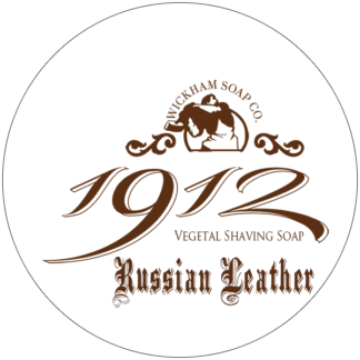 1912 shave soap russian leather