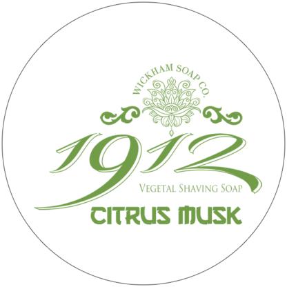 1912 shave soap citrus musk
