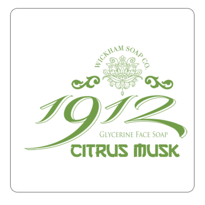1912 face soap citrus musk