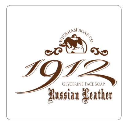 1912 face soap russian leather