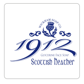 1912 face soap scottish heather