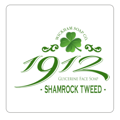 1912 face soap shamrock tweed