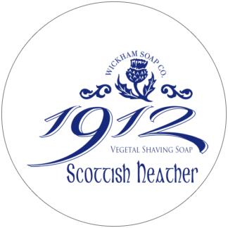 1912 shave soap scottish heather