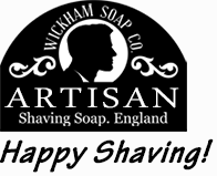 Wickham Soap website logo - The home of Happy Shaving!