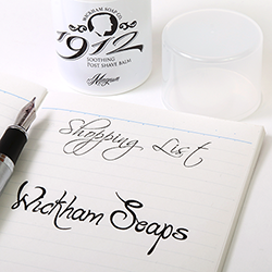Wickham Soap Shopping List image